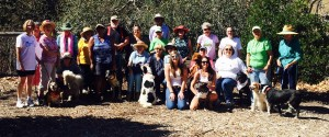 Stenner Creek staff with our pets, clients, patients and new friends at the El Chorro Dog Park's 14th Anniversary!